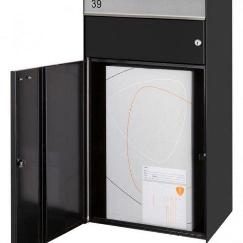 Postpakketbrievenbus-wandmodel-open